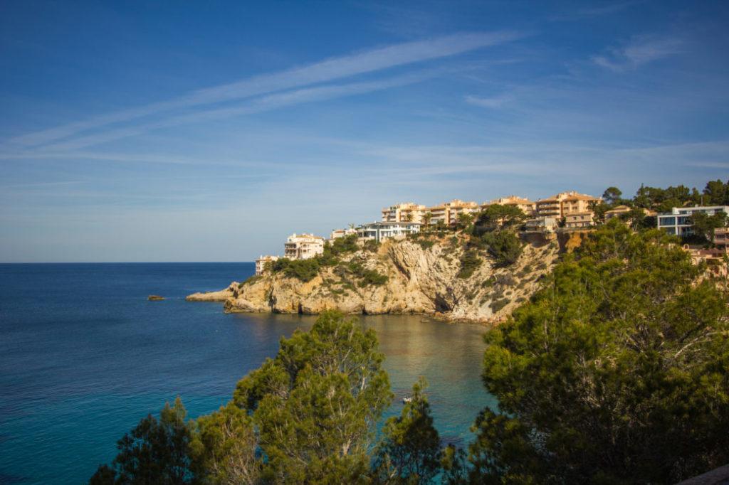 Malerische Landschaften – Die Bucht von Santa Ponsa