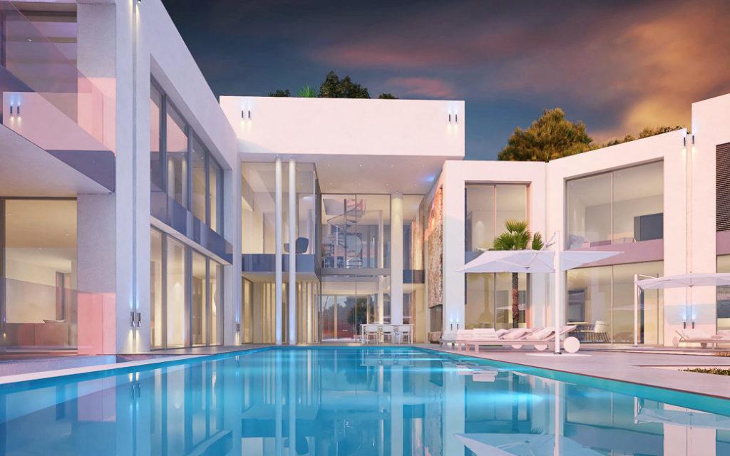 Immo des Monats Dez 20 - Traumvilla in Sol de Mallorca - Pool