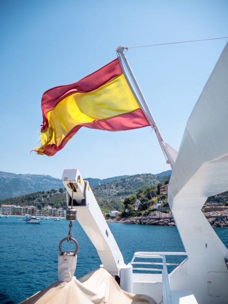 Mallorca Paguera Urlaubsort schiff