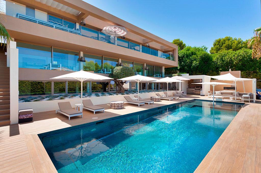 Santa Ponsa Villa Pool Luxus Mallorca 2
