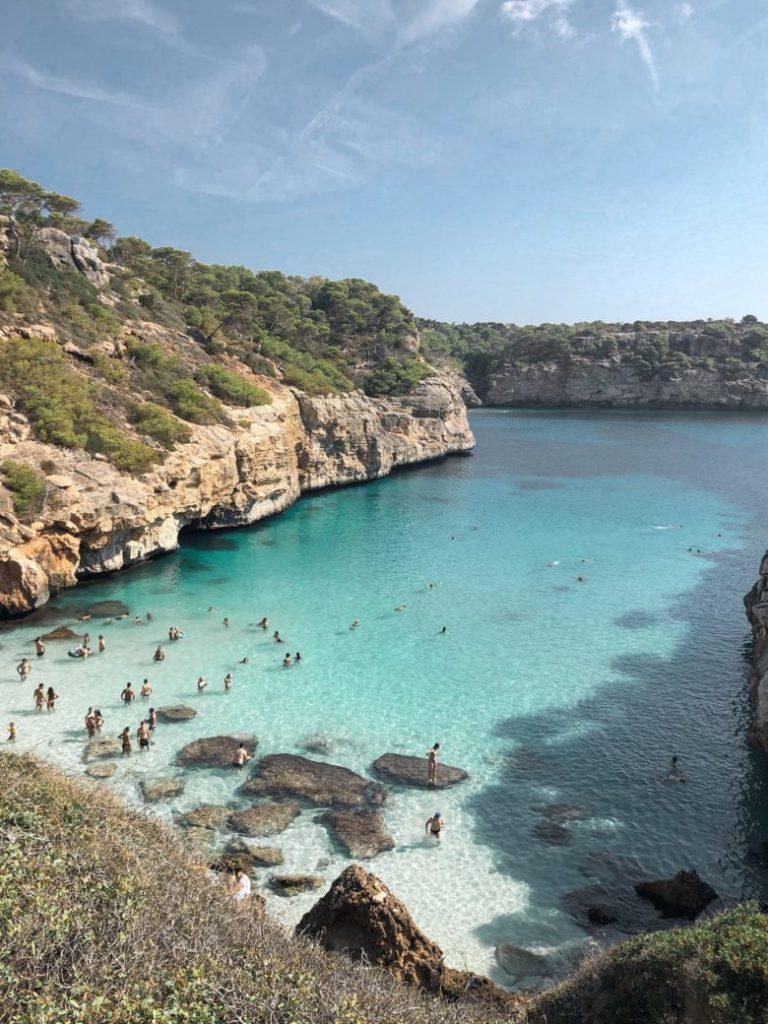 Mallorca im August - Bucht