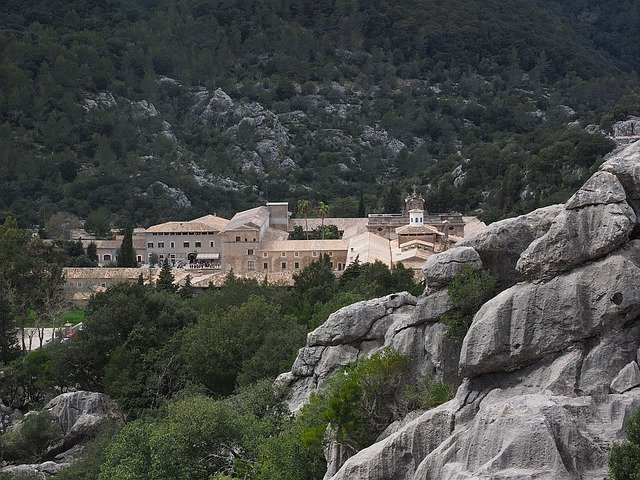 Camping auf Mallorca Kloster Lluc