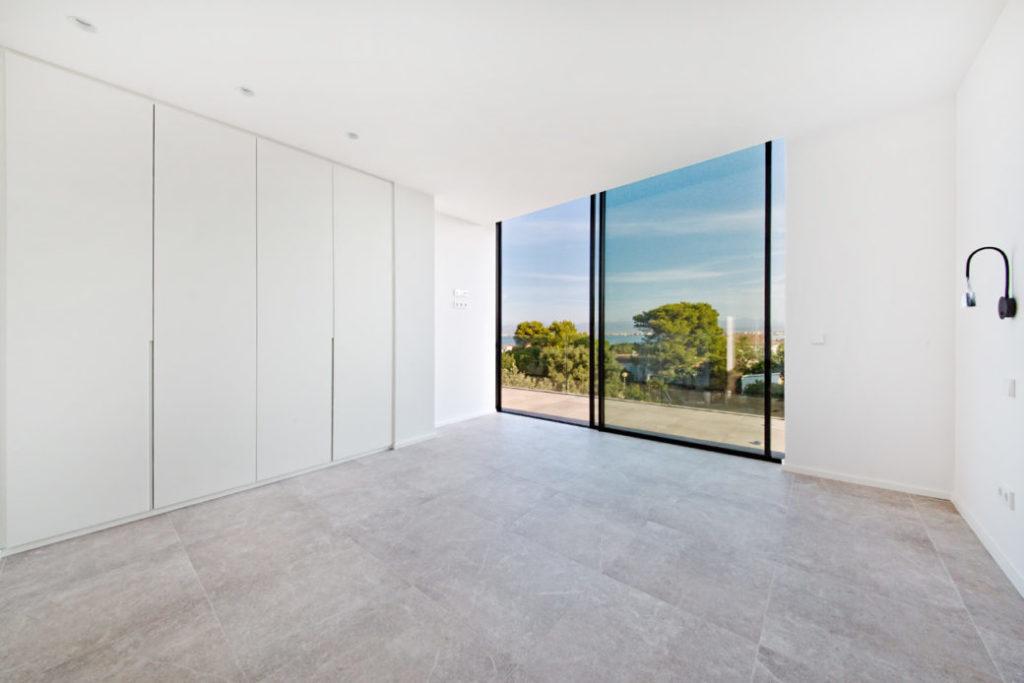 Schlafzimmer-Aussicht-Villa-Mallorca 2