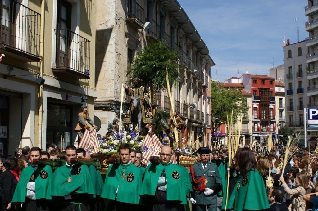 Mallorca im April Ostern Prozession