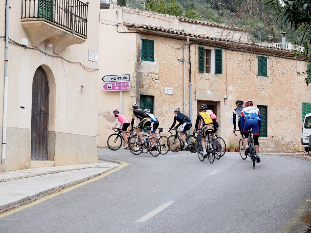 Mallorca im April Radsport