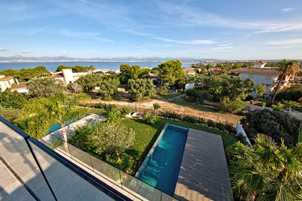 Immobilie des Monats - Oktober - Aussicht Balkon